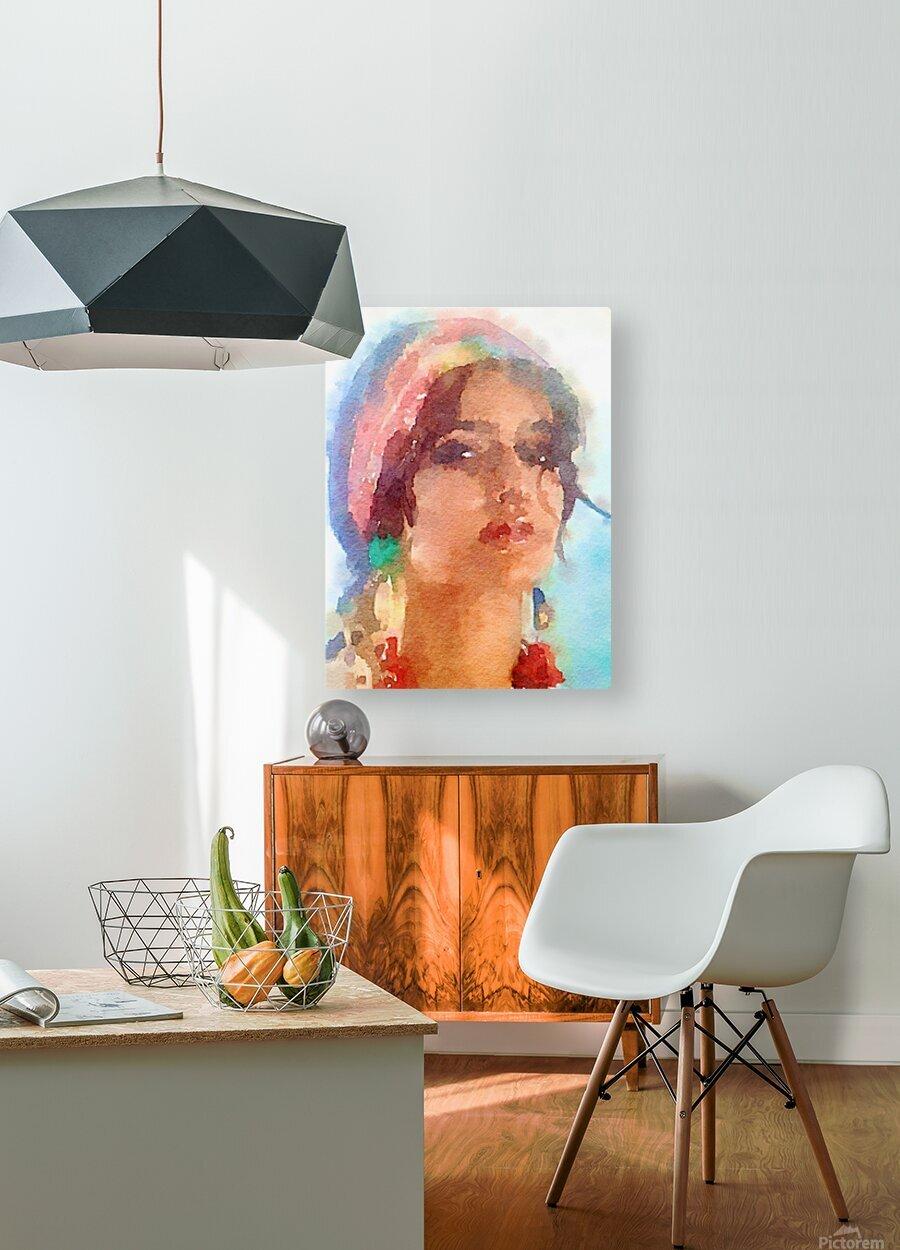 Esmeralda  HD Metal print with Floating Frame on Back