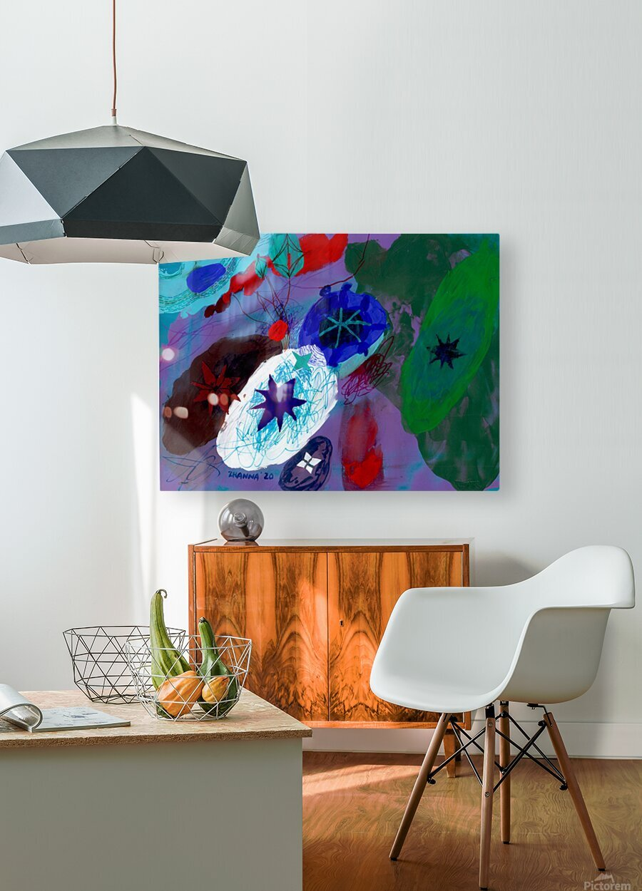 Stargazing  HD Metal print with Floating Frame on Back