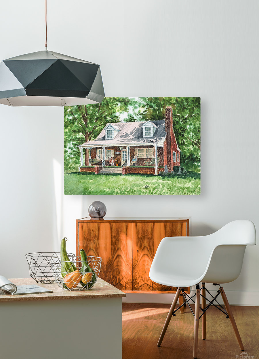 East Coast Summer  HD Metal print with Floating Frame on Back