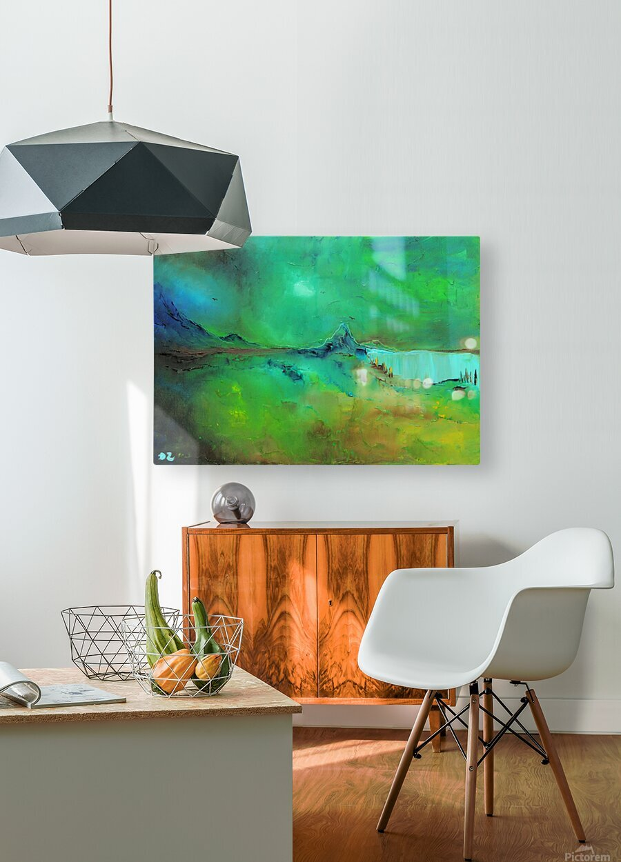 Freshness-2  HD Metal print with Floating Frame on Back