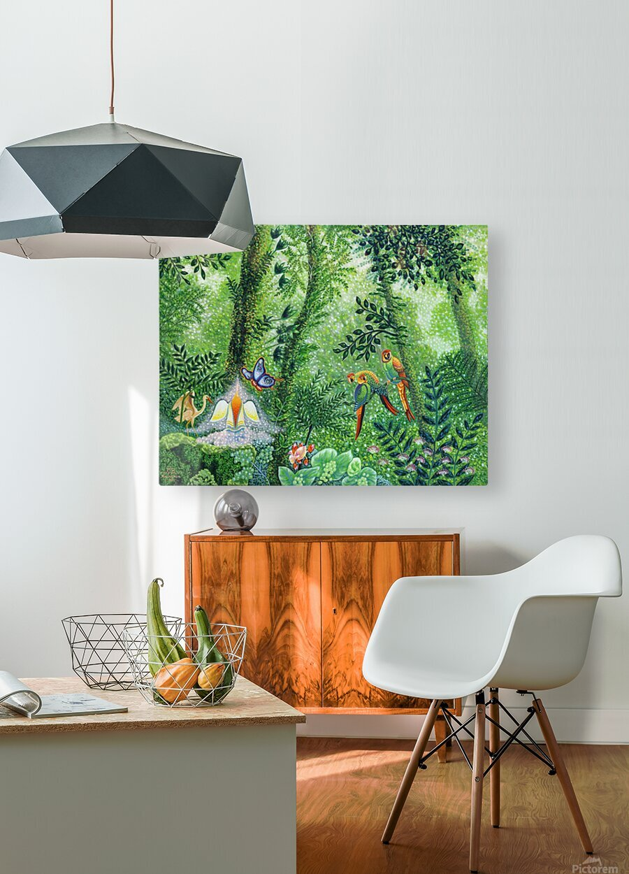 2000 028  HD Metal print with Floating Frame on Back