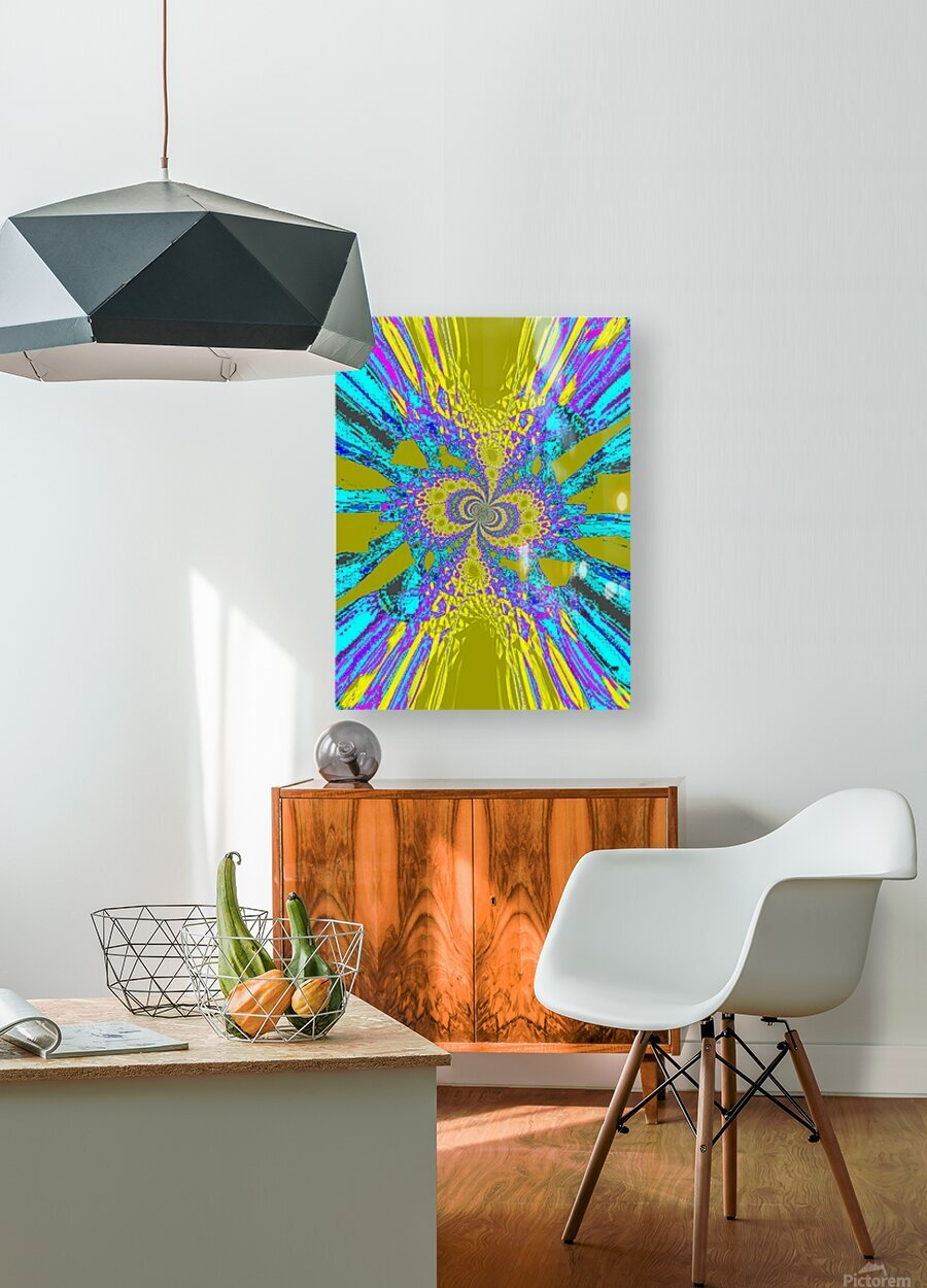 A Wildflower Spinning In The Wind 6  HD Metal print with Floating Frame on Back
