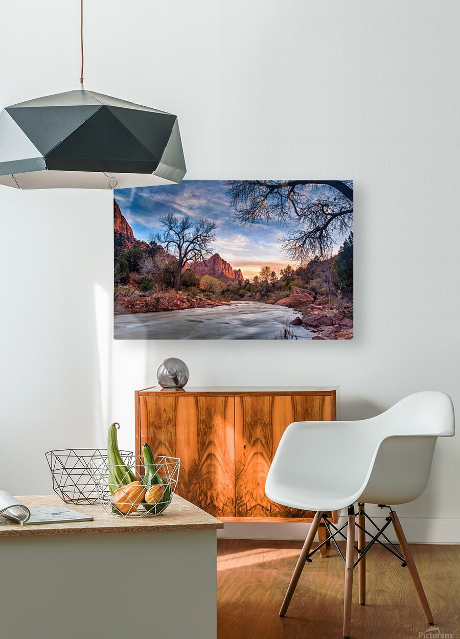 ***  HD Metal print with Floating Frame on Back