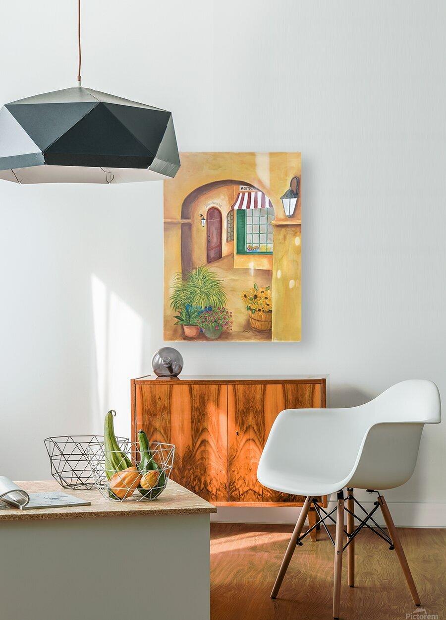 Boulangerie  HD Metal print with Floating Frame on Back