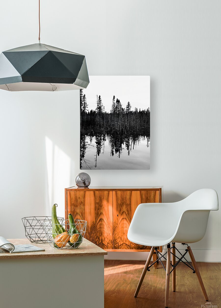 Cote Nord  HD Metal print with Floating Frame on Back