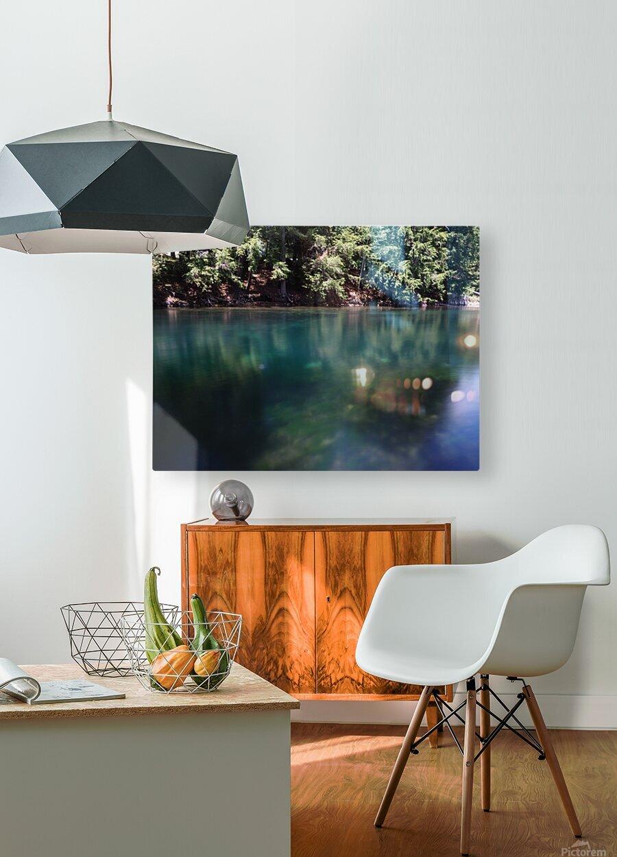 Saint Laurent  HD Metal print with Floating Frame on Back