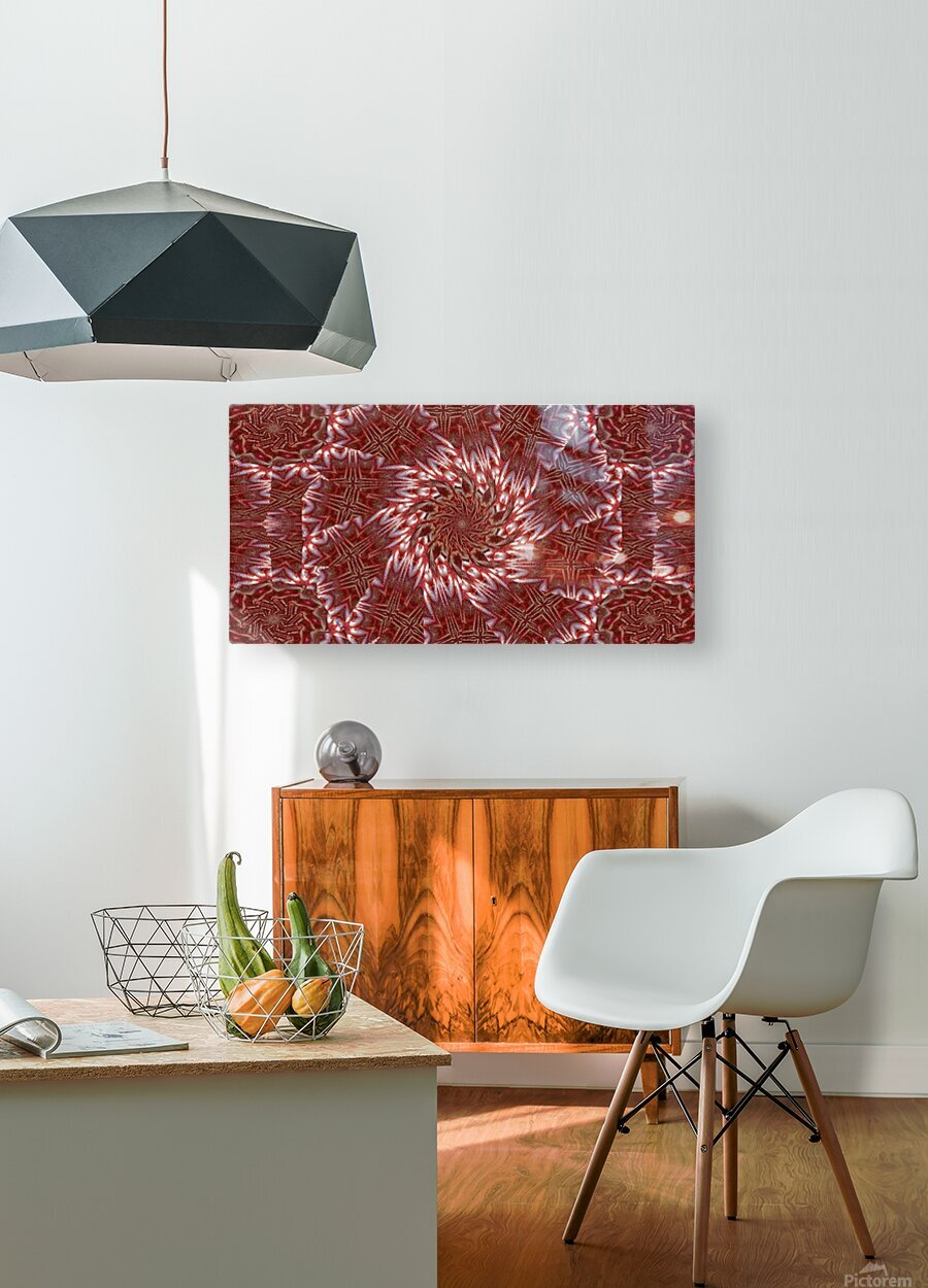 White Lotus 20  HD Metal print with Floating Frame on Back