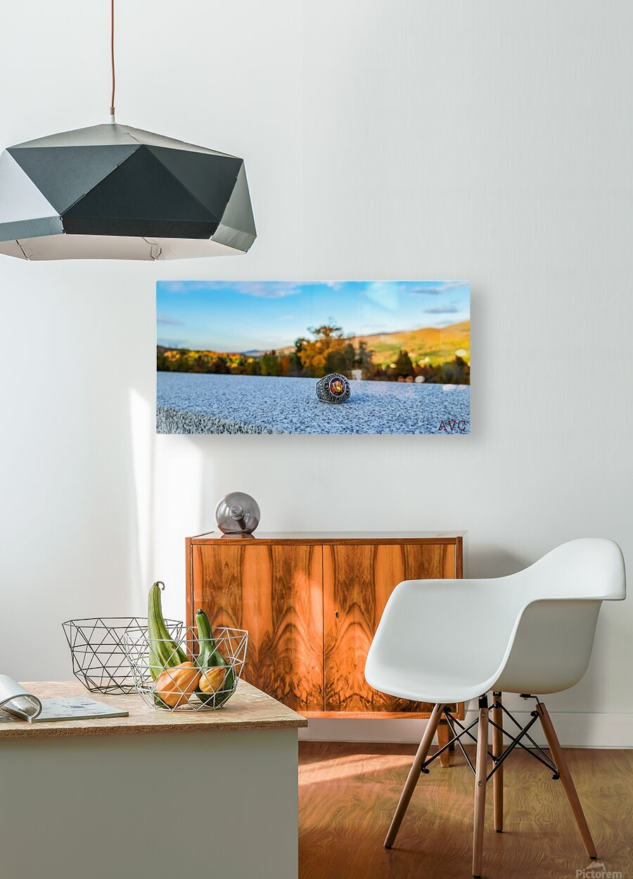 One for the Ring-- Autumn  HD Metal print with Floating Frame on Back