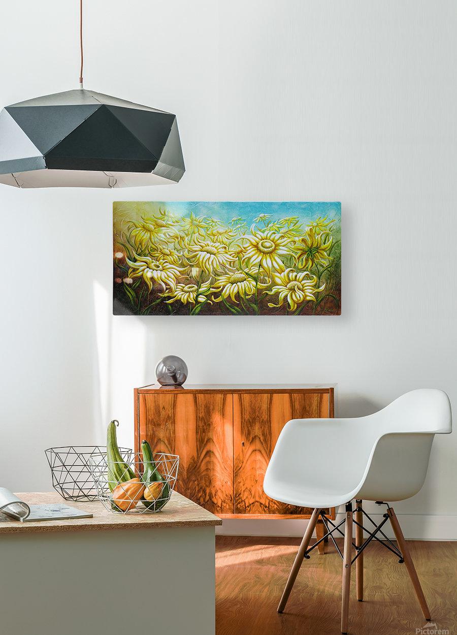 Splash of summer  HD Metal print with Floating Frame on Back