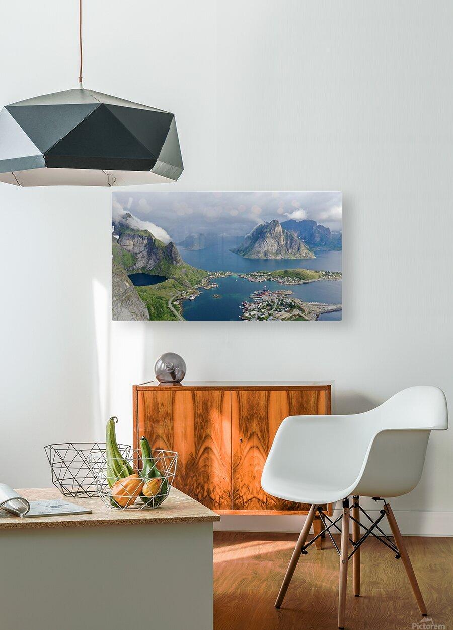 Lofoten 2  HD Metal print with Floating Frame on Back