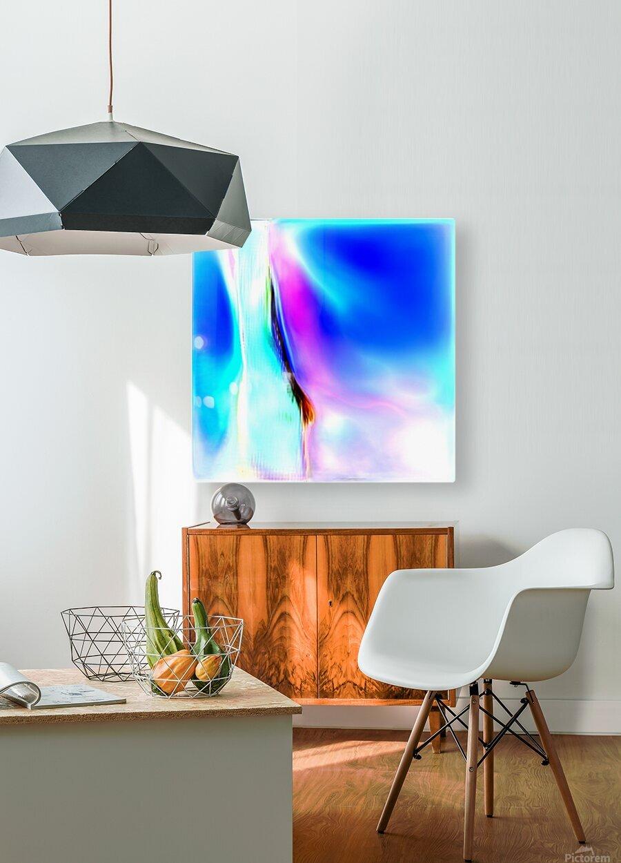 Composicion1014  HD Metal print with Floating Frame on Back