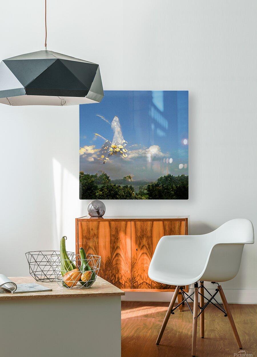Composicion10041  HD Metal print with Floating Frame on Back