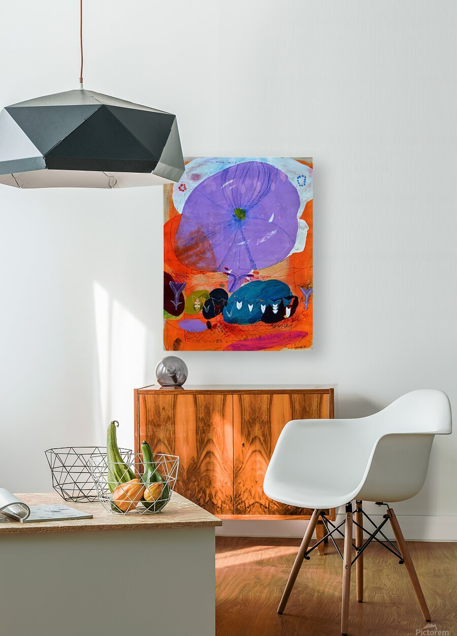 I Am Here To Hear Your Voice  HD Metal print with Floating Frame on Back