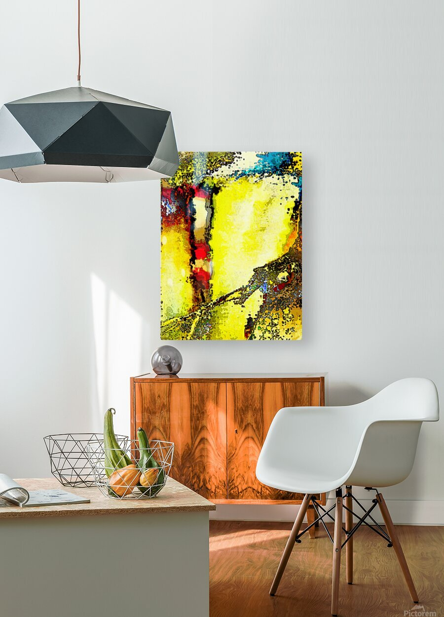 Flipo  HD Metal print with Floating Frame on Back