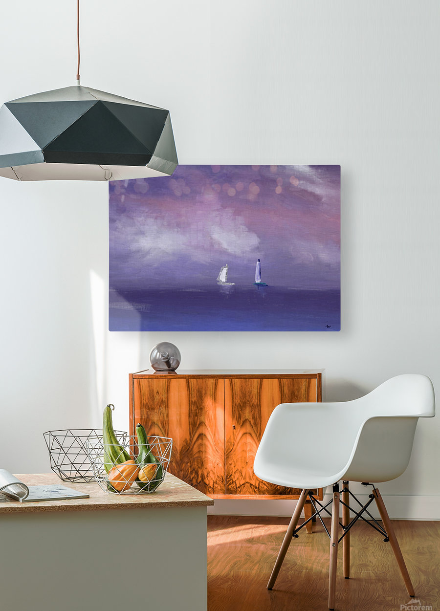 0253  HD Metal print with Floating Frame on Back