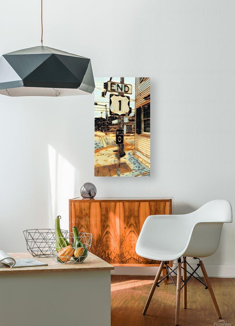 Beginingoftheend  HD Metal print with Floating Frame on Back