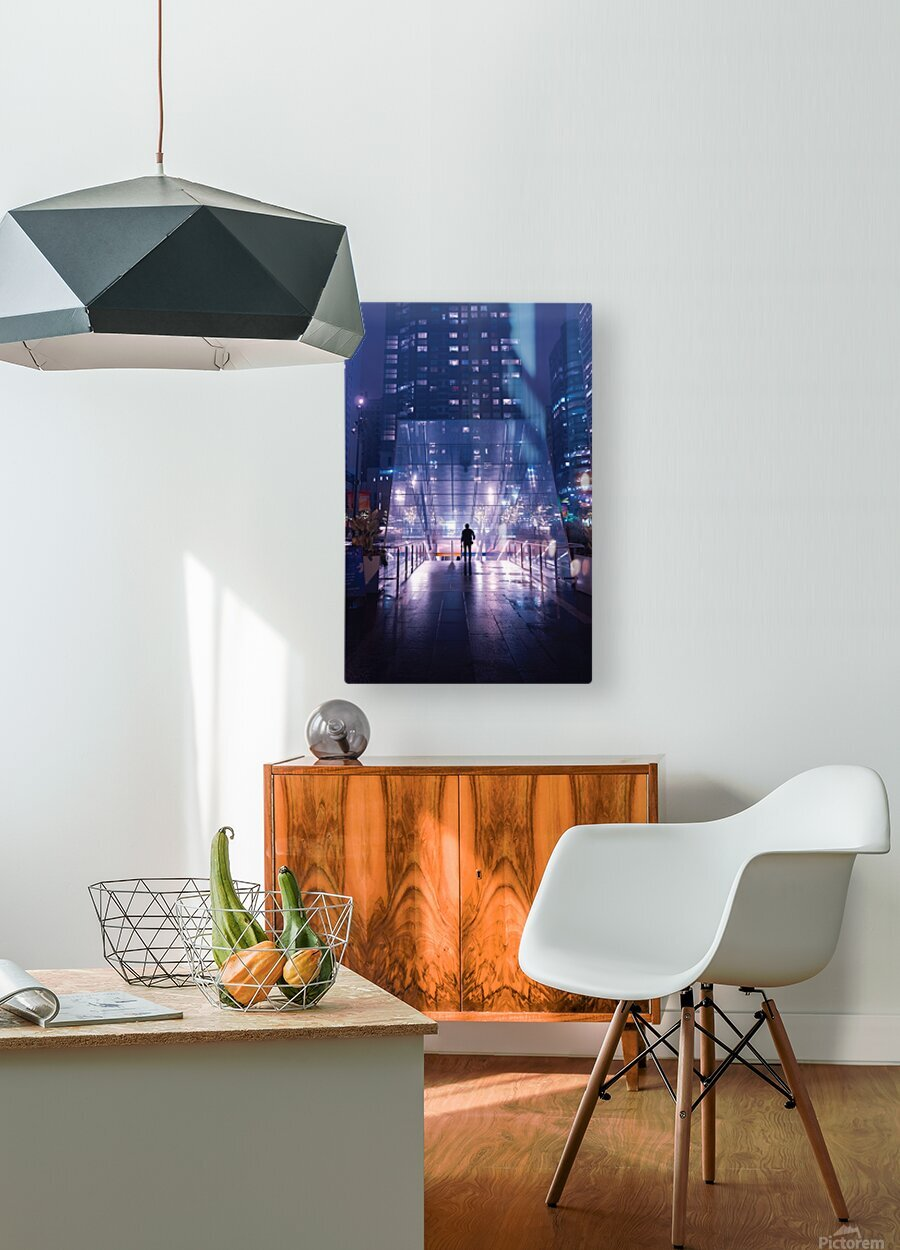 Caught In The Middle  HD Metal print with Floating Frame on Back