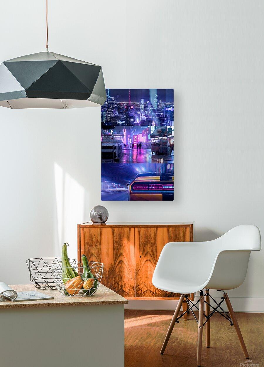 Oblivion City  HD Metal print with Floating Frame on Back