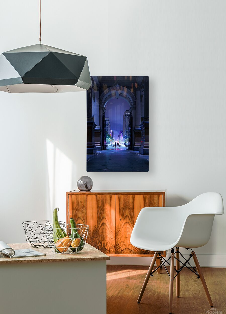 What Will Become Of Us  HD Metal print with Floating Frame on Back