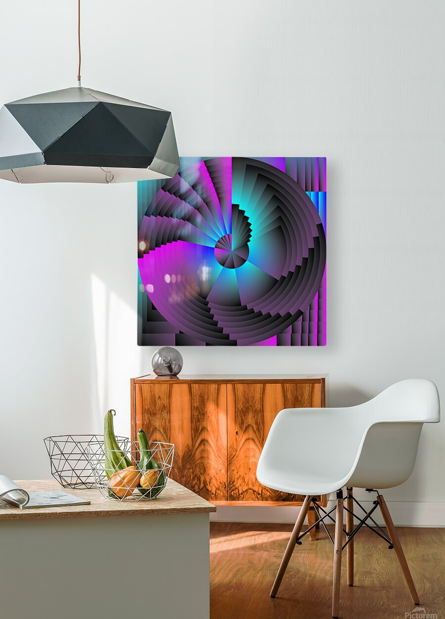 A.P.Polo - Murex  HD Metal print with Floating Frame on Back