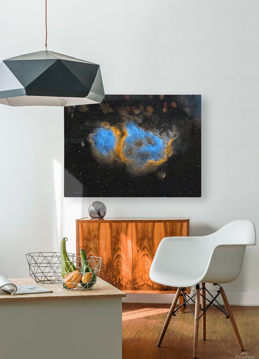 Soul Nebula  HD Metal print with Floating Frame on Back