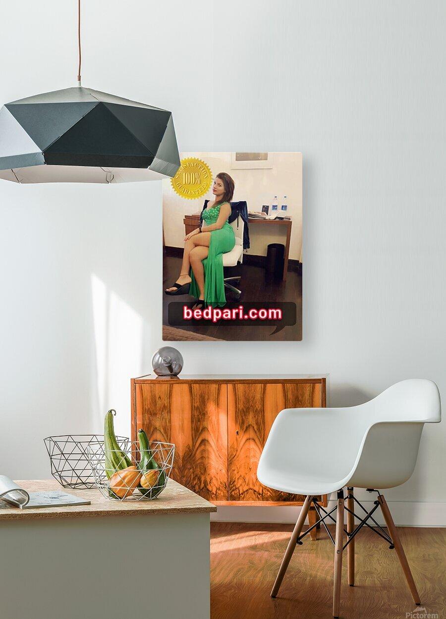 anjali 2  HD Metal print with Floating Frame on Back