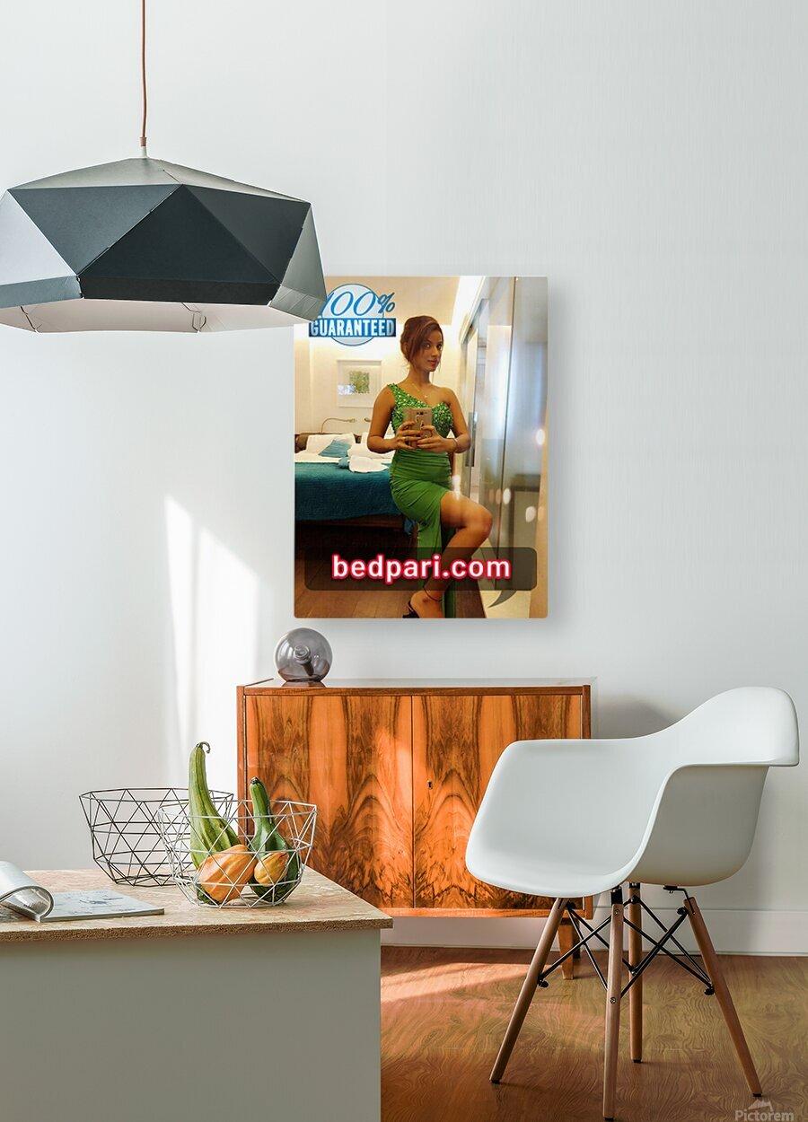 anjali 4  HD Metal print with Floating Frame on Back