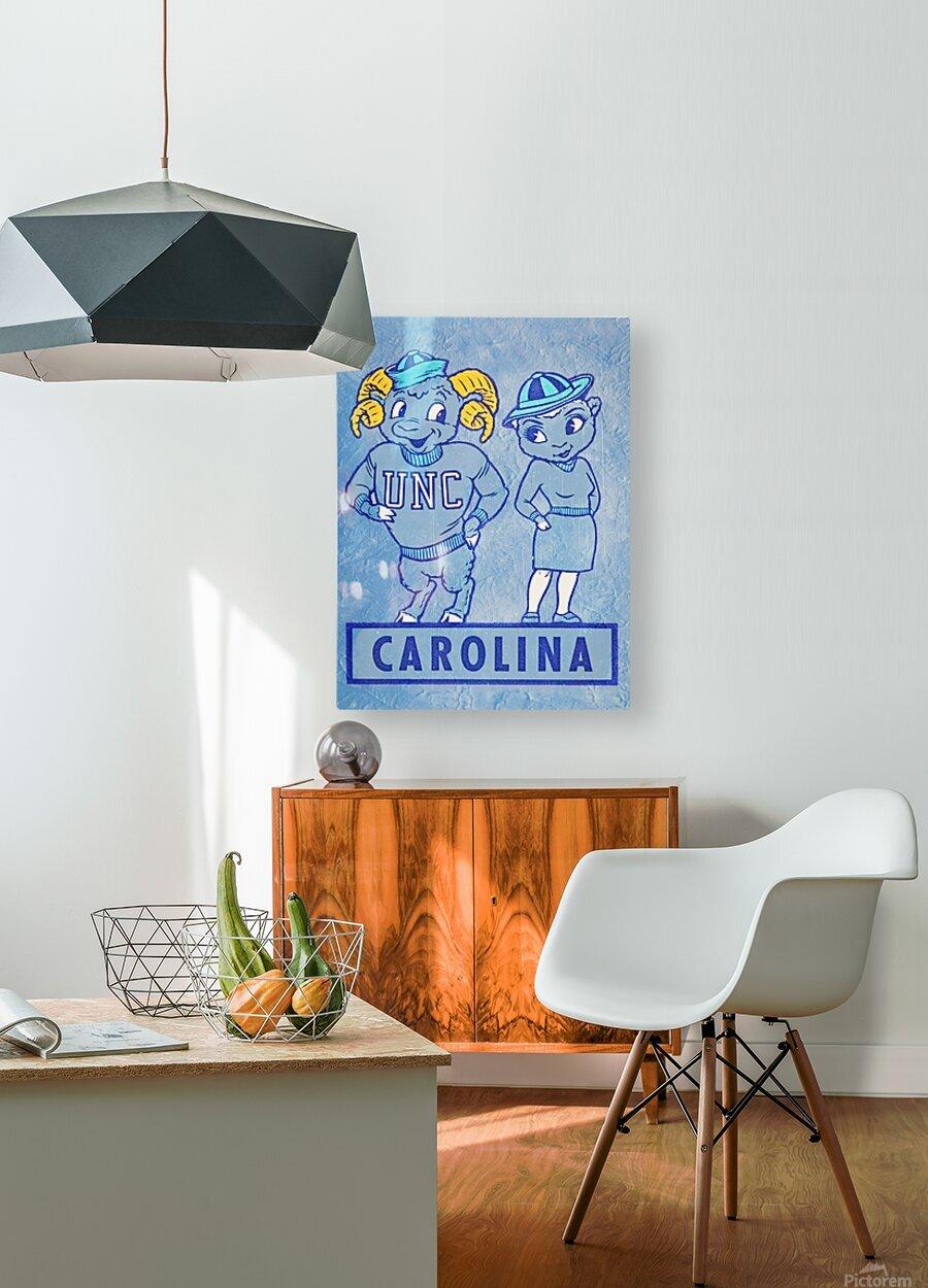 1950s Carolina Couple  HD Metal print with Floating Frame on Back