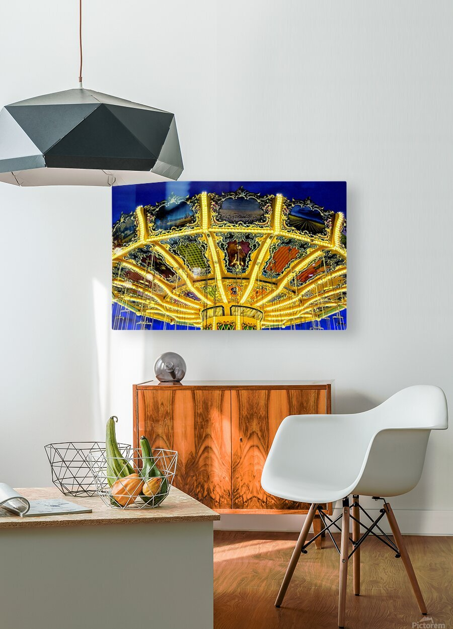 Carnival II  HD Metal print with Floating Frame on Back