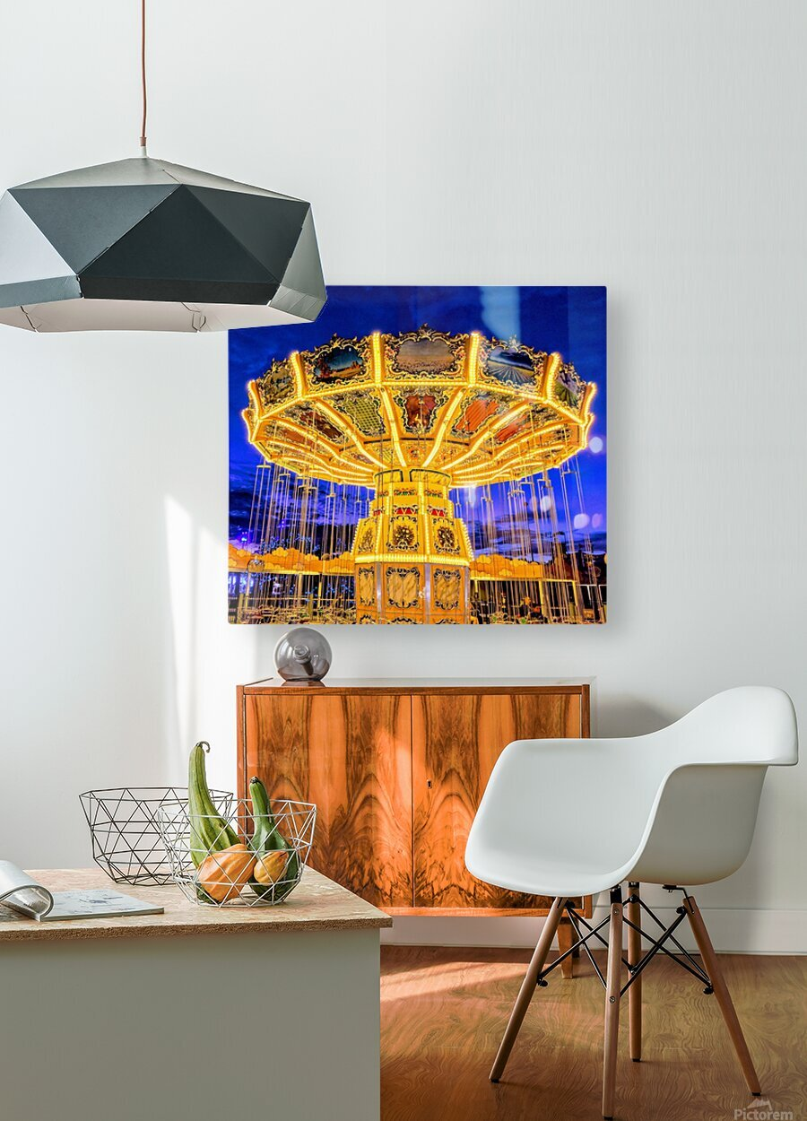 Carnival I  HD Metal print with Floating Frame on Back