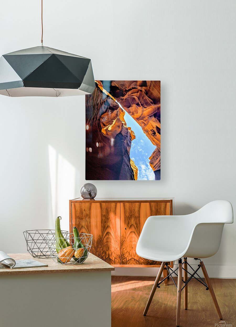 Entrance to Heaven  HD Metal print with Floating Frame on Back