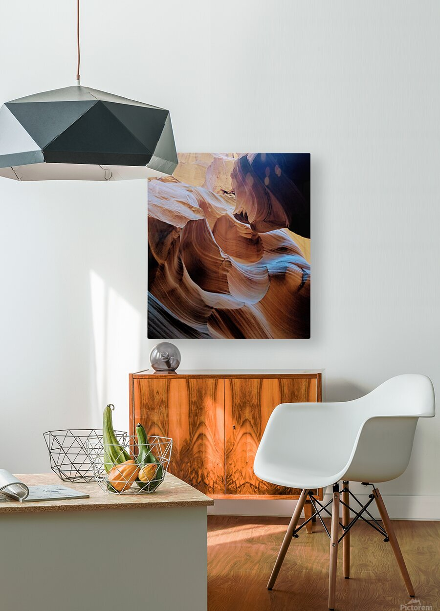 Sunkissed II  HD Metal print with Floating Frame on Back