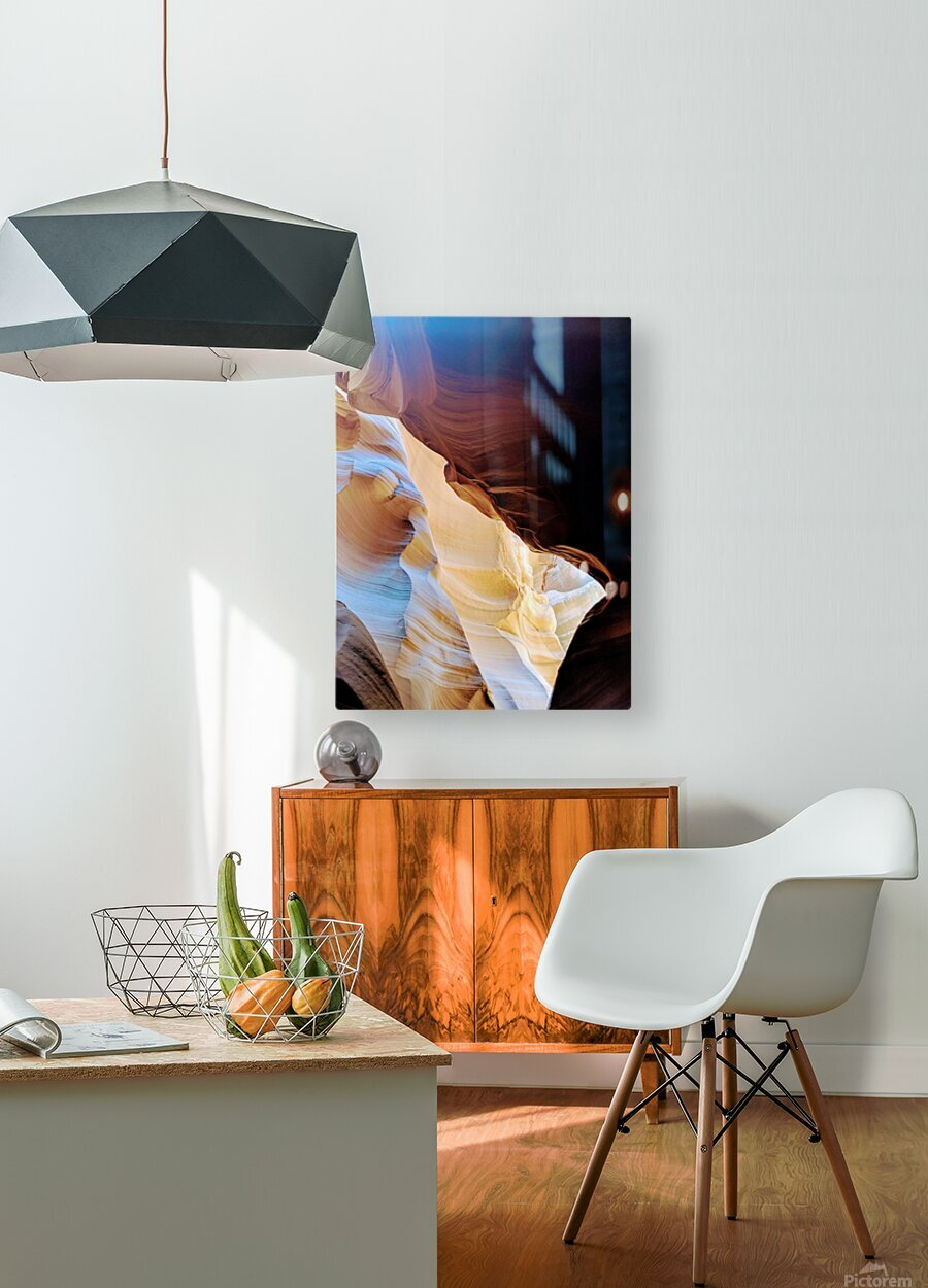 Sunkissed I  HD Metal print with Floating Frame on Back