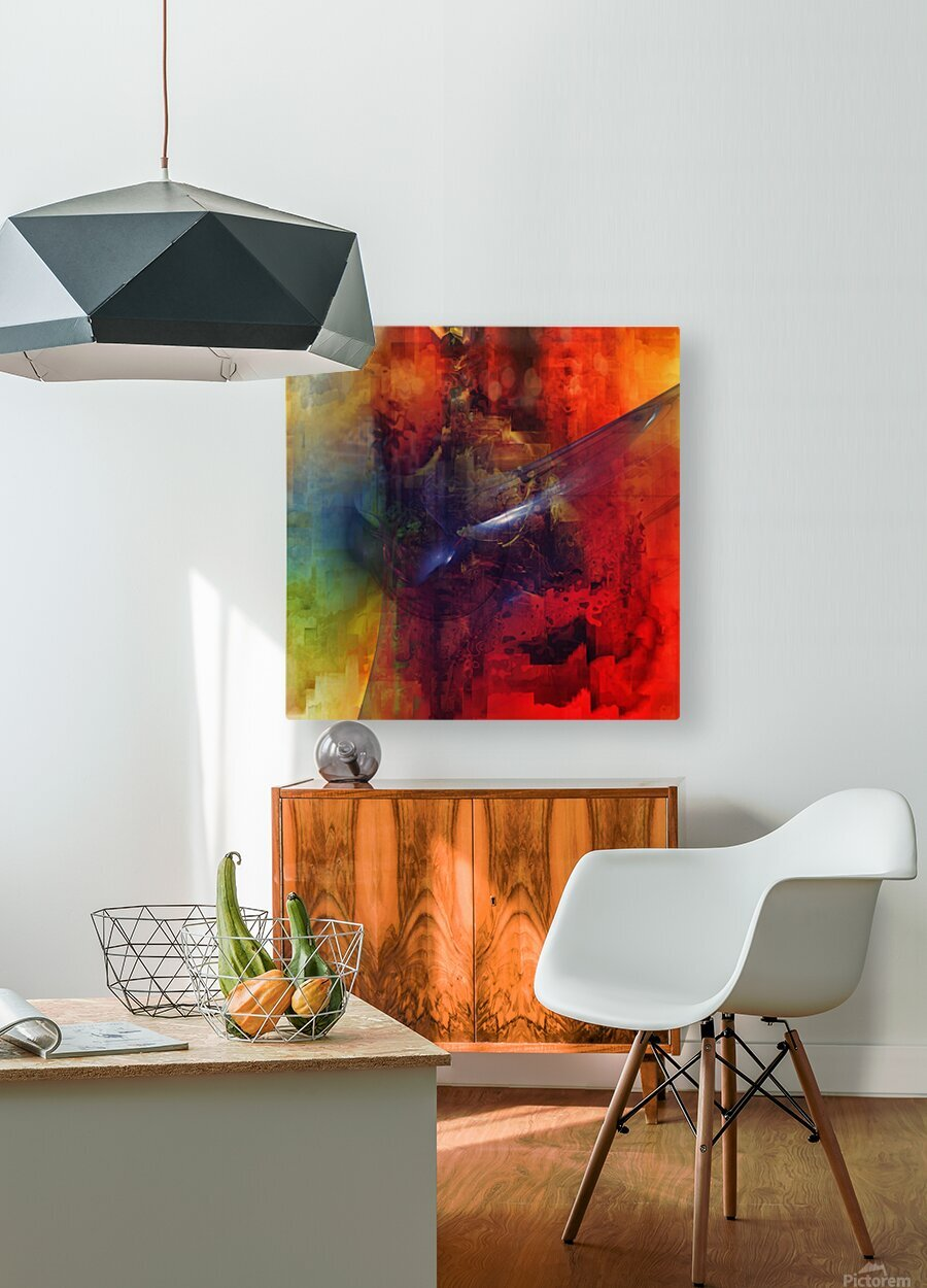 Cazimir dream   HD Metal print with Floating Frame on Back