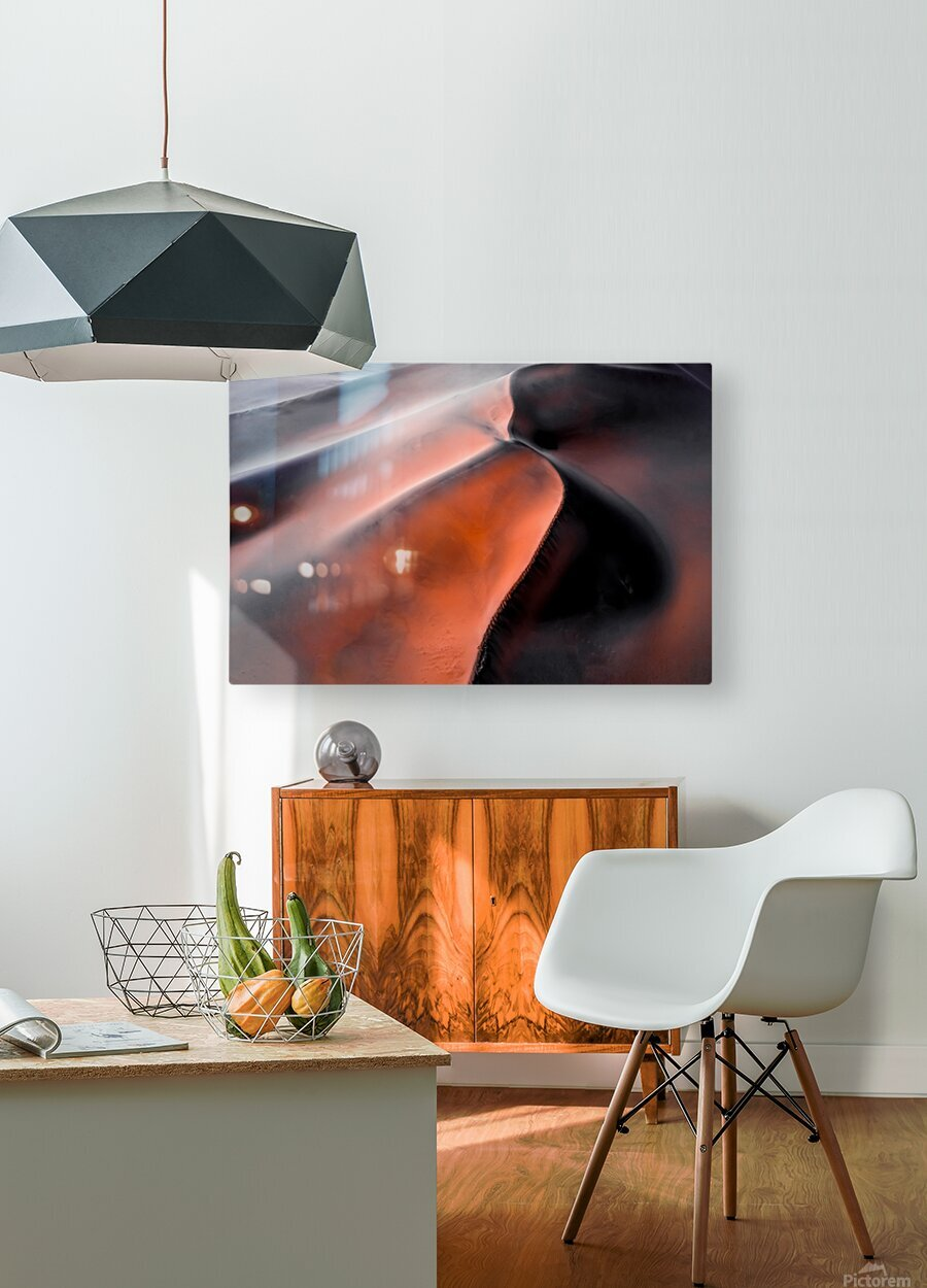 Sand hill  HD Metal print with Floating Frame on Back