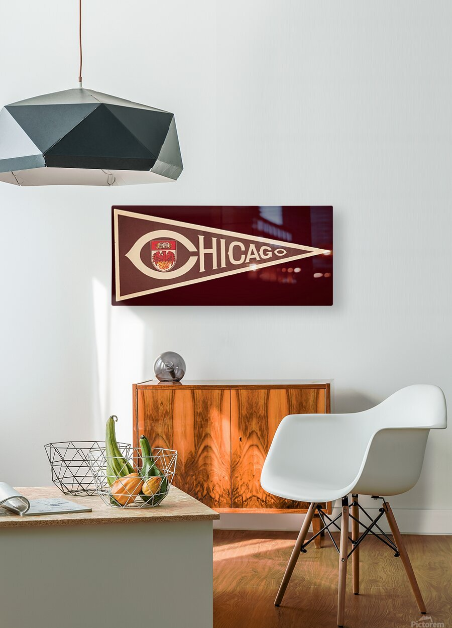 1950s University of Chicago  HD Metal print with Floating Frame on Back