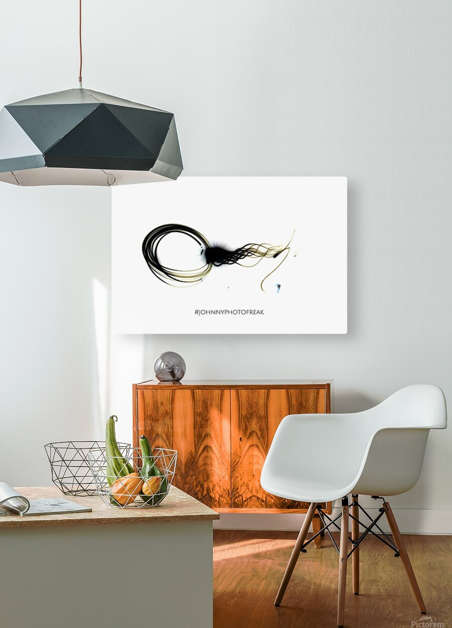 Circle of life  HD Metal print with Floating Frame on Back