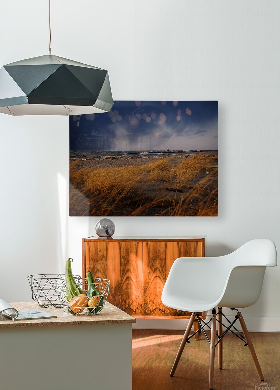 Lighthouseprocessed2  HD Metal print with Floating Frame on Back