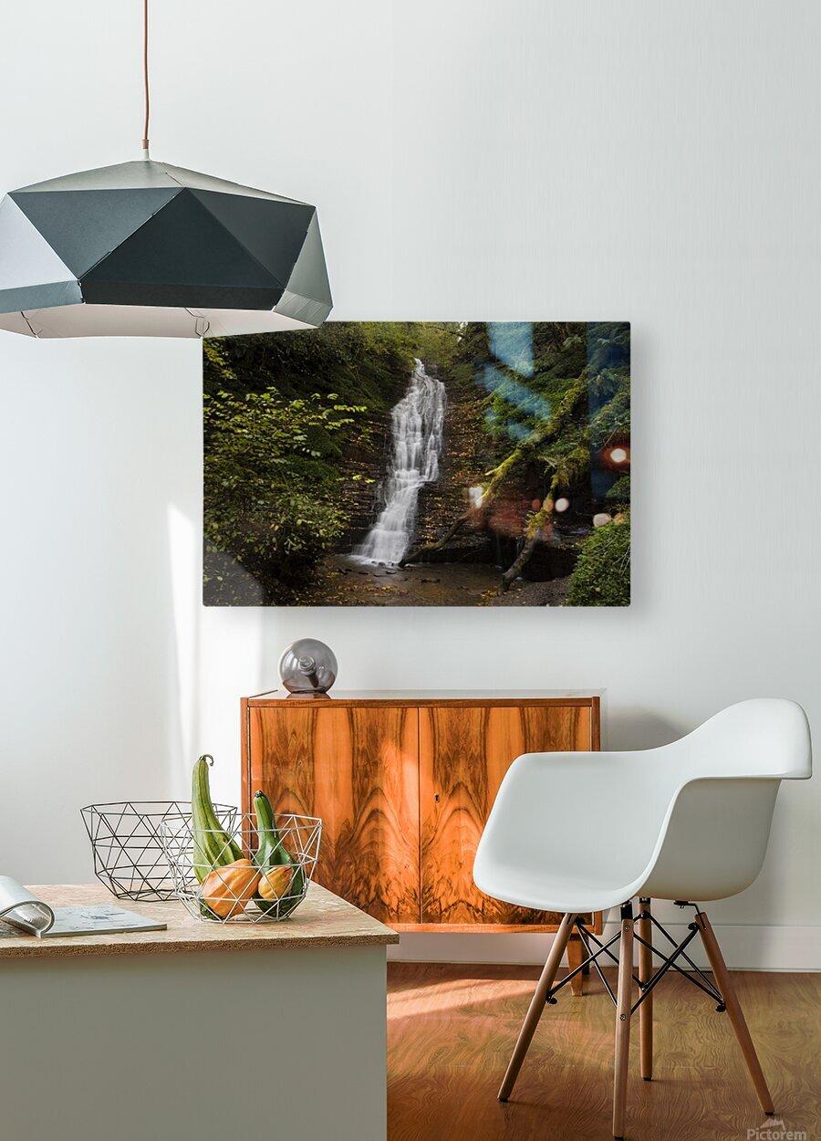 Water-Break-its-Neck landscape  HD Metal print with Floating Frame on Back