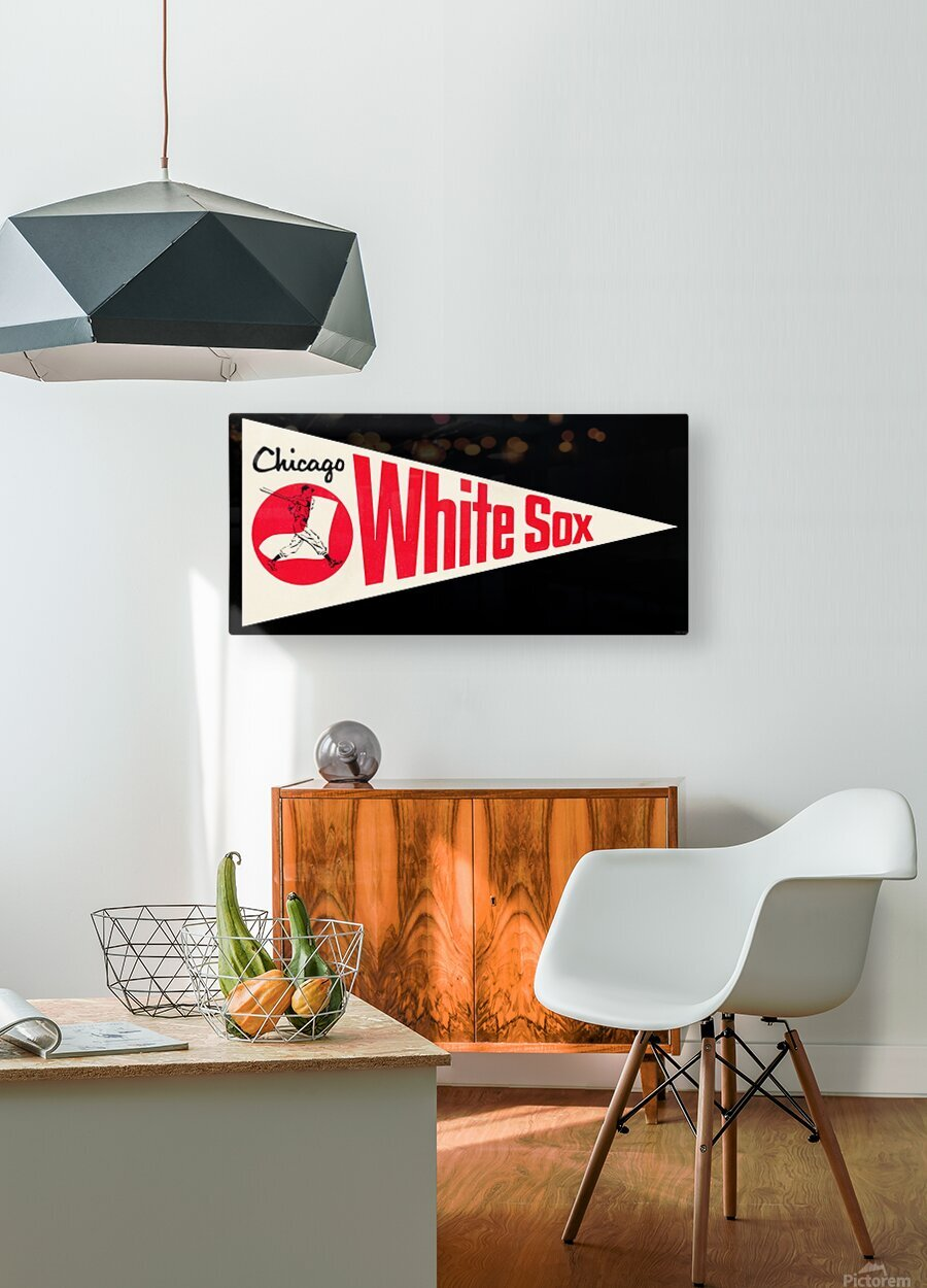 1962 Chicago White Sox Art  HD Metal print with Floating Frame on Back