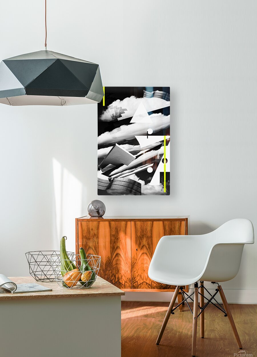 Art Spaces  HD Metal print with Floating Frame on Back