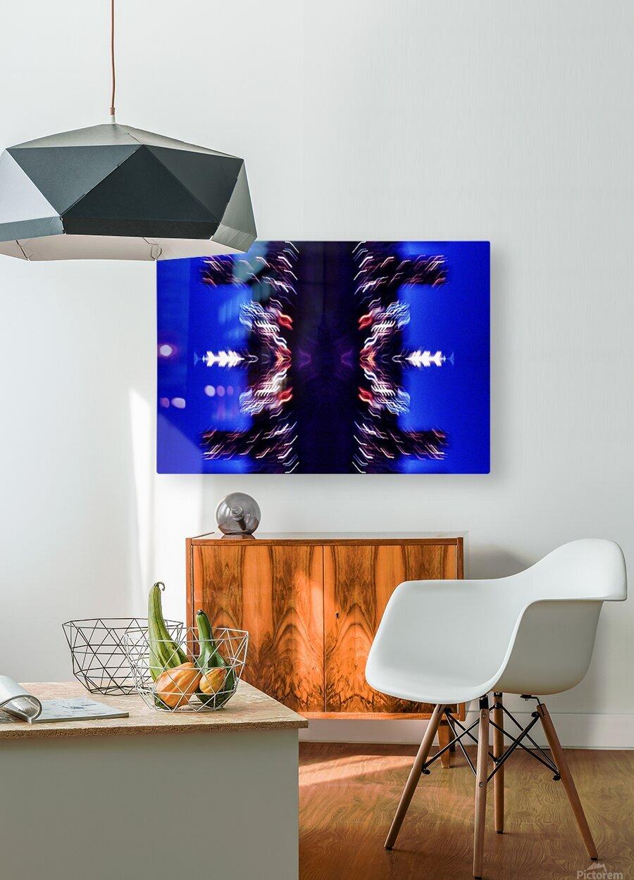 Lights47  HD Metal print with Floating Frame on Back