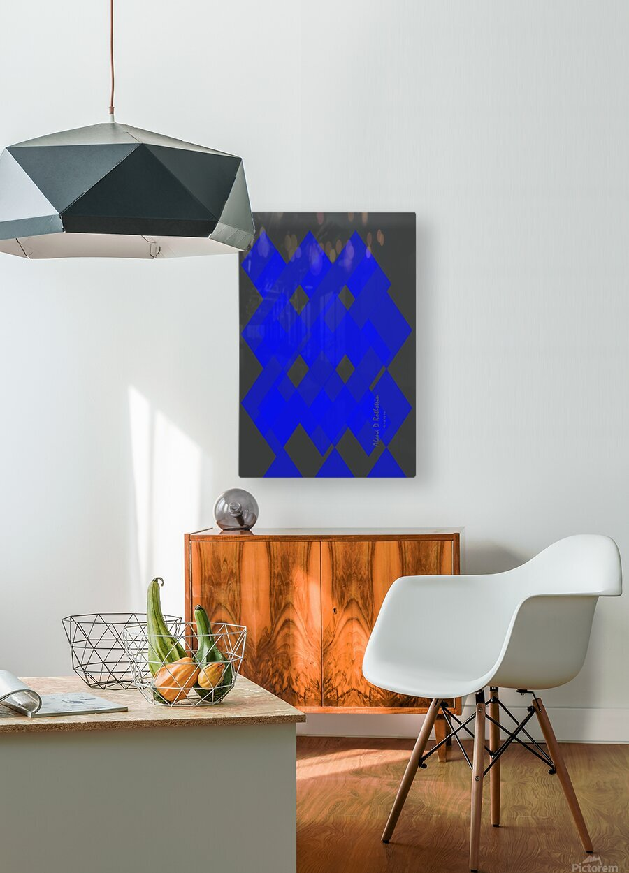 Graphics 2  HD Metal print with Floating Frame on Back