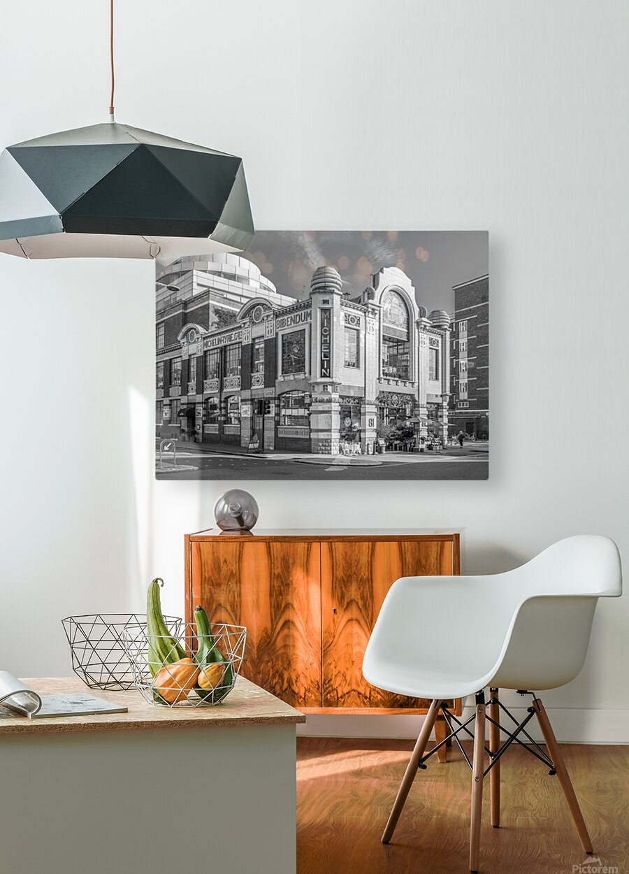 Michelin House, London  HD Metal print with Floating Frame on Back