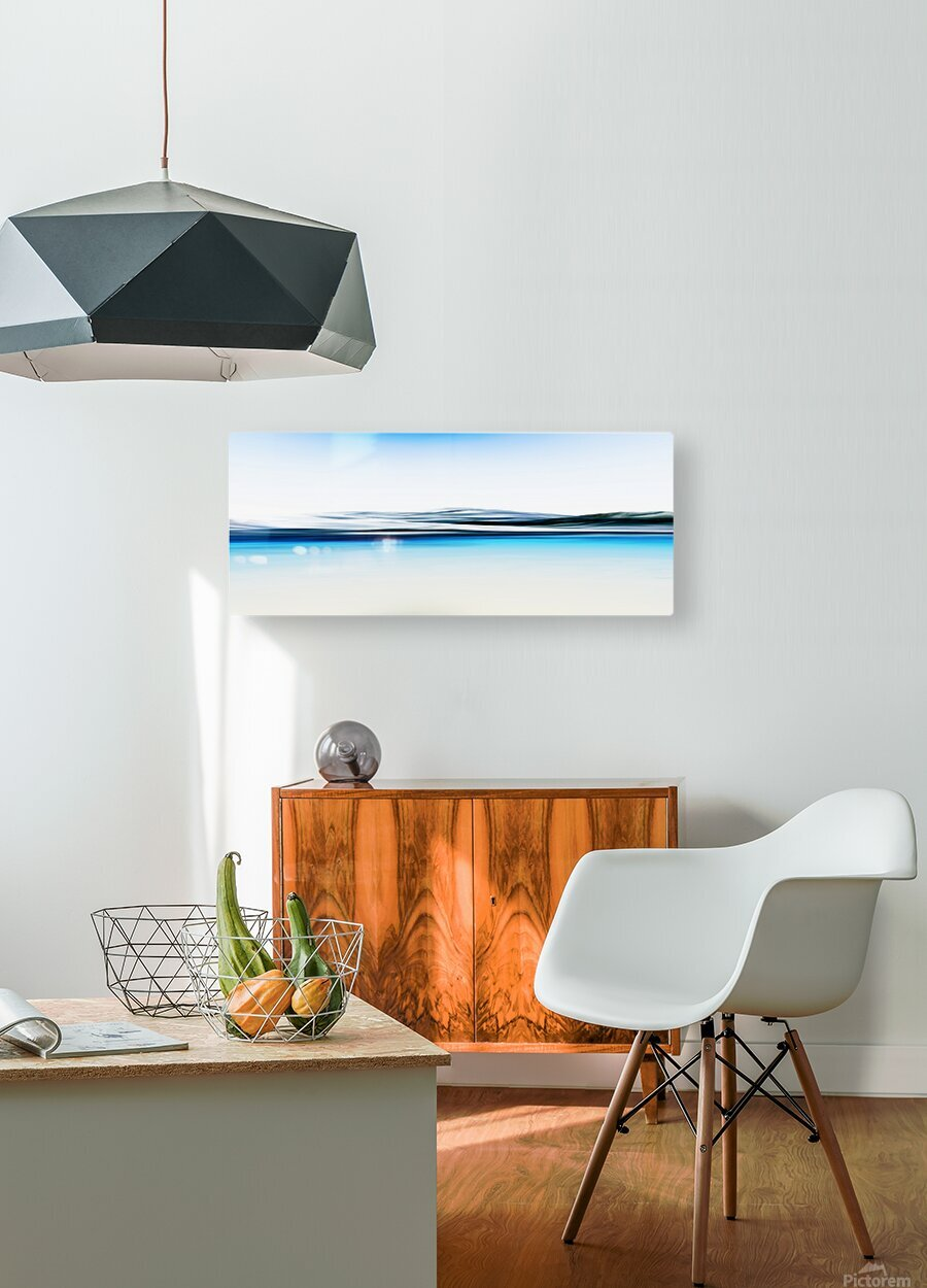 Magestic Mountain  HD Metal print with Floating Frame on Back