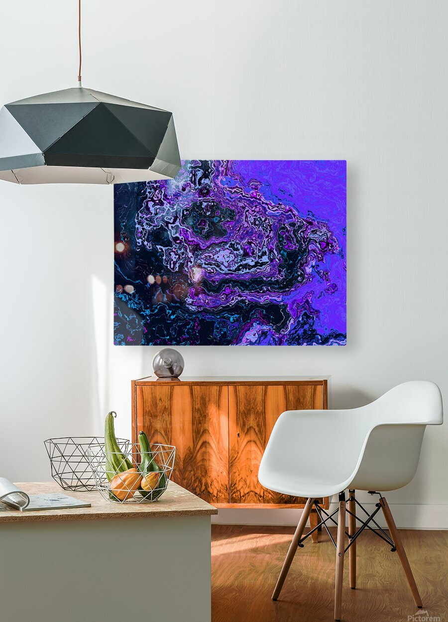 image3A814_Glitch6  HD Metal print with Floating Frame on Back