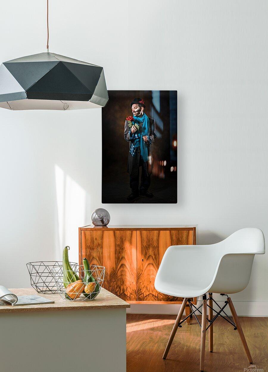 Auguste et rose  HD Metal print with Floating Frame on Back
