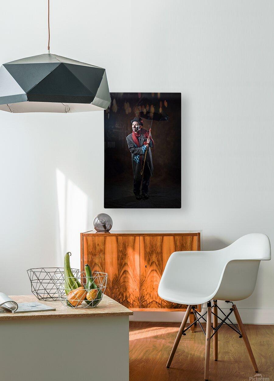 Auguste et espoir  HD Metal print with Floating Frame on Back