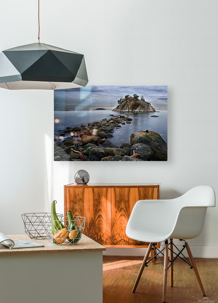 Whytecliff Park  HD Metal print with Floating Frame on Back
