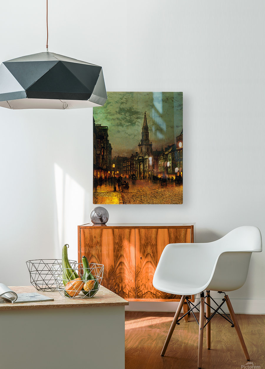 Blackman Street, London  HD Metal print with Floating Frame on Back